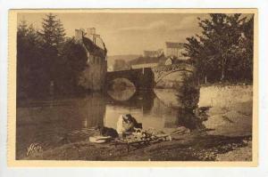La Douce France, Pont Notre-Dame, Gorges du Tarn Mende (Lozère), France, 190...