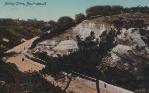Dudley Chine Bournemouth 1915 WW1 Postcard
