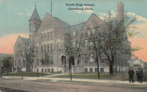 CLEVELAND, Ohio, 1900-10s; South High School