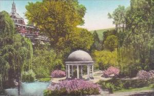 Virginia Hot Springs Soda Spring And Garden The Homestead Hotel Albertpye