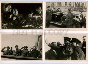 204025 RUSSIA KIROV set 16 photo postcards in cover 1935 year