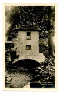 UK - England, Ambleside. Old Bridge House      RPPC