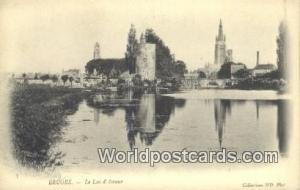 Bruges, Belgium, België, la Belgique, Belgien Le Lac D'Amour  Le Lac D'Amour