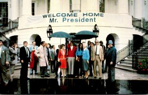 President Ronald Reagan Returns Home After Recovery From Gunshot Wound 11 Apr...