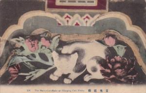 Japan Nikko The Nemuri-no-Neko or Sleepng Cat