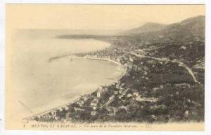 MENTON ET GARAVAN, France 1910s