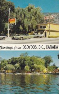 Desert Motor Inn,  Osoyoos Lake, Osoyoos,  B.C.,  Canada,  40-60s