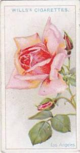 Wills Vintage Cigarette Card Roses 1926 No 29 Los Angeles