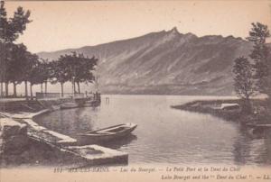 France Aix les Bains Lac du Bourget Le Petit et la Dent du Chat