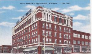 Hotel Northern, Chippewa Fails, Wisconsin, 1930-1940s