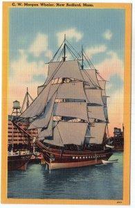 New Bedford, Mass, C. W. Morgan Whaler