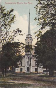 LEE, Massachusetts, 1900-1910's; Congregational Church