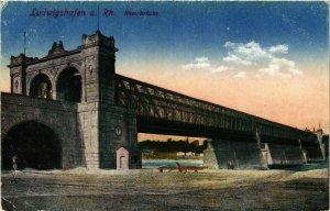 CPA AK Ludwigshafen a.Rhein Rheinbrucke GERMANY (875225)