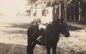RP: Girl on a horse , 00-10s