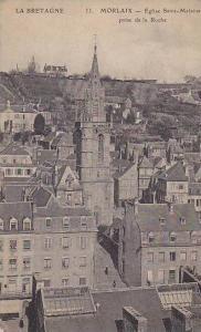 Eglise Saint-Melaine Prise De La Roche, Morlaix (Finistere), France, 1900-1910s