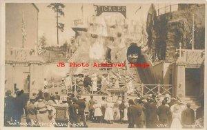 Alaska Yukon Pacific Expo, RPPC, Tickler Pay Streak Roller Coaster,Oakes No 1182