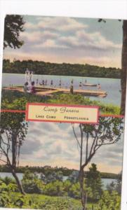 Pennsylvania Lake Como Camp Geneva For Girls 1951