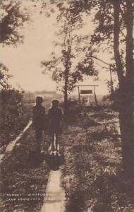 Iowa Dixon Sunset Whippoorwill Unit Camp Minneyata Artvue