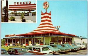 Lake Park, Georgia Postcard CANDYLAND INC. Restaurant Gifts I-75 Roadside c1960s