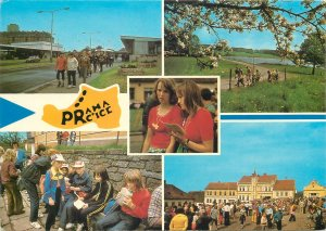 Postcard Europe Czech Republic Pochod Praha multiview