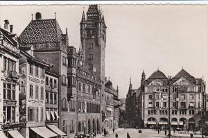 RP, Marktplatz, Basel, Switzerland, 1920-1940s