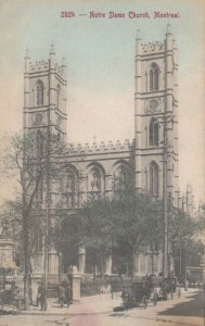 MONTREAL, Quebec, 1900-10s ; Notre Dame Church