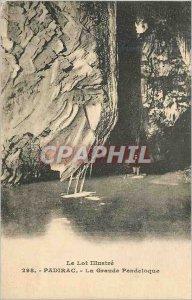 Postcard Old Padirac Great Pendeloque Lot Illustrious