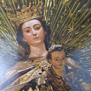 Vintage Collectible Post Card Nostra Senora del Carmen Sevilla