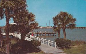 Scenic view,  Sea Island Yacht Club Dock,  Sea Island,  Georgia,  PU_1960