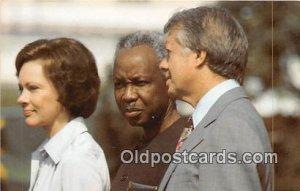 President & Mrs. Jimmy Carter President Julius K Nyerere of Tanzania Unused