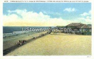 Boardwalk in Carolina Beach, North Carolina