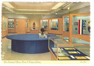 Presidential Room, Harry S. Truman Library, Independence, Missori, 50-70s; In...