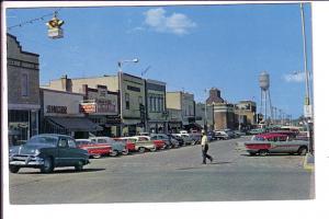 Downtown, 50th Street, 50th Avenue, Vegreville, Alberta,