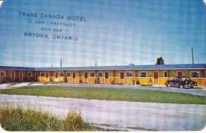 Trans Canada Motel, BRYDEN, Ontario, Canada, 40-60's