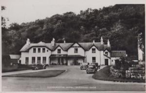 Glenmoriston Hotel Invernesshire Rare Real Photo Vintage Scottish Postcard
