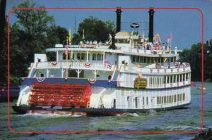 The General Jackson Paddlewheel River Boat Memphis Tennessee