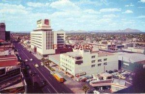 1958 NORTH CENTRAL AVENUE, PHOENIX, ARIZONA looking north. Hotel Westward Ho