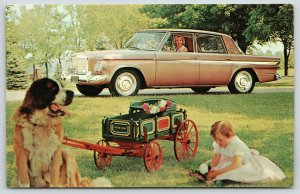 Studebaker~The Cruiser Advertising, Also Kids Playing With a Studebaker? Wagon