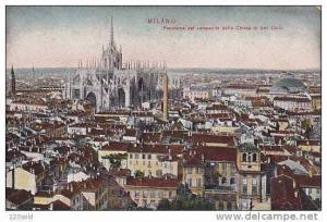 Italy Milano - Panorama del Campanile della Chiesa di San Cario 00s - 10´s