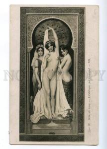 176715 NUDE Odalisque BELLE by CORABCEUF Vintage SALON PC