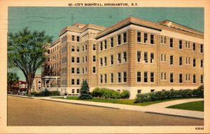 New York Binghamton City Hospital 1957