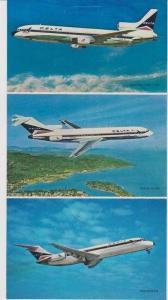 Tri-Fold PC: Stars of DELTA Airlines Fleet: Lockheed L-1011 TriStar, Boeing 7...