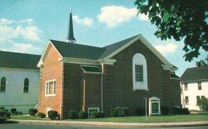 Salisbury, Maryland, MD, Grace Methodist Church, Chrome Vintage Postcard g8248