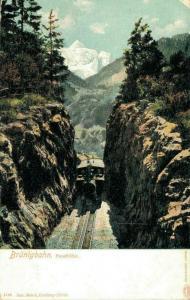 Switzerland Brünigbahn Passhöhe 02.74