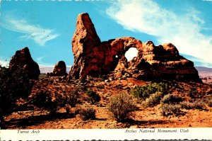 Utah Arches National Monument Turret Arch 1973