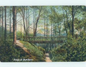 Pre-1907 BRIDGE Pine Banks - Malden & Melrose Massachusetts MA A3446