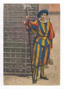 Citta del Vaticano, PU-1958, Guardia Svizzera in basse uniforme