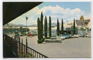 Copper Hills Motor Hotel Motel US 60 70 Miami Arizona postcard