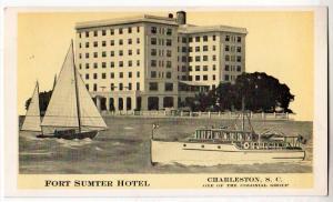 Fort Sumter Hotel, Charleston SC