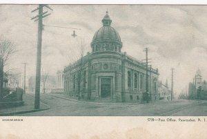 PAWTUCKET, Rhode Island, pre-1907; Post Office